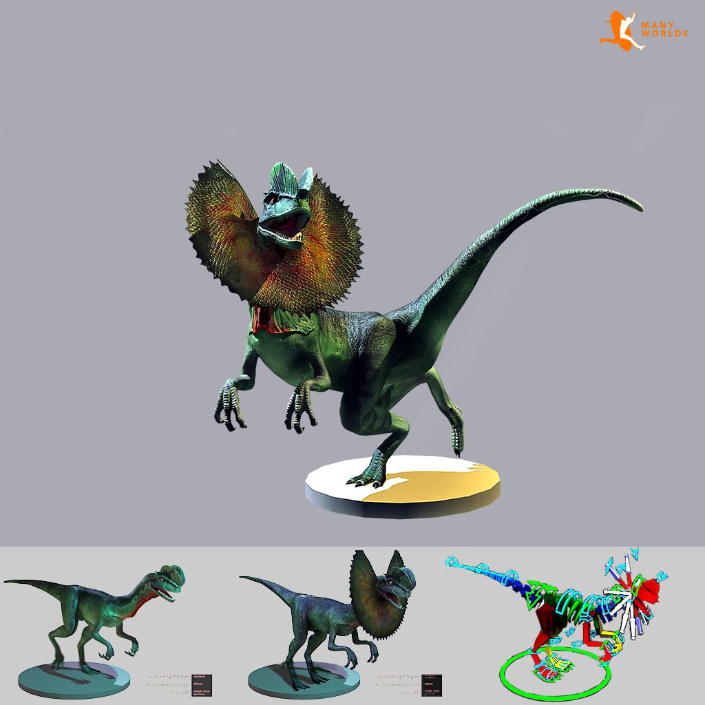 3D Dinosaurios en Atocha