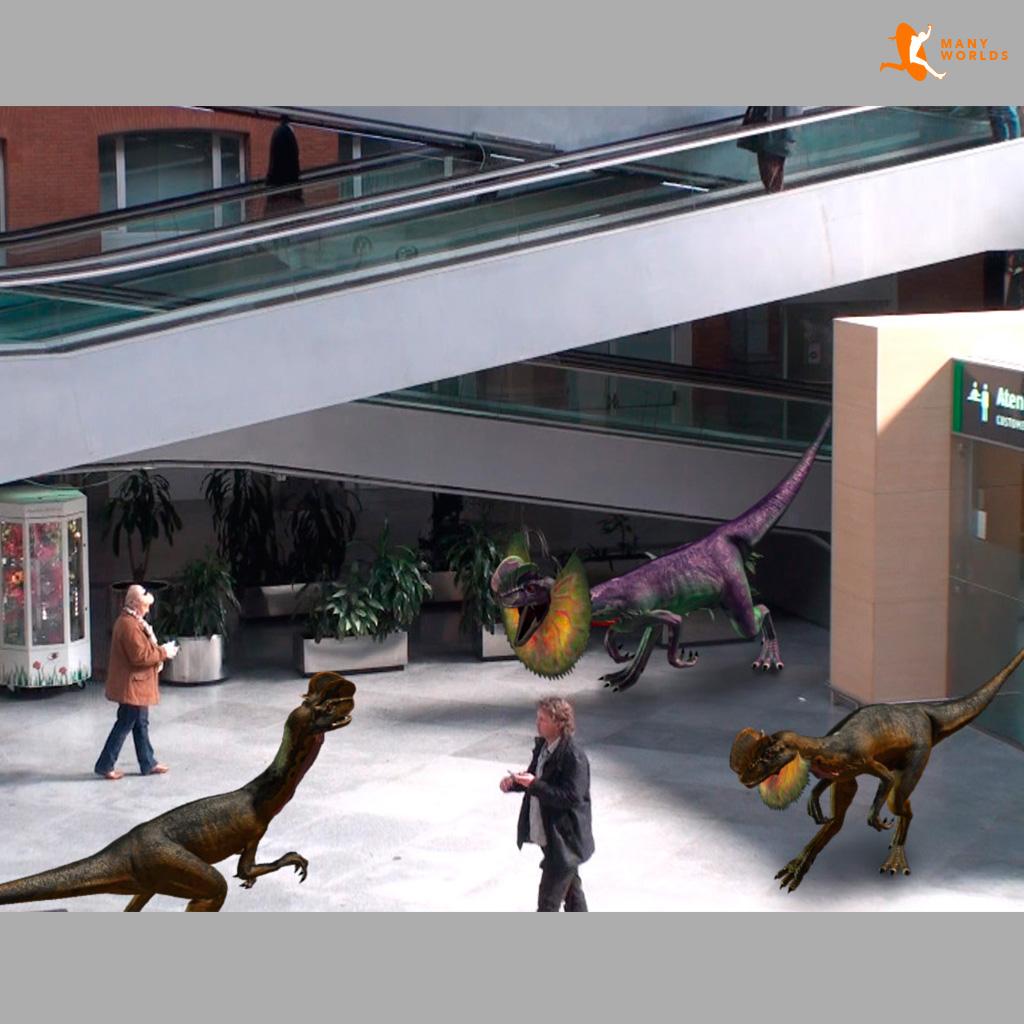 Ingame Dinosaurios en Atocha