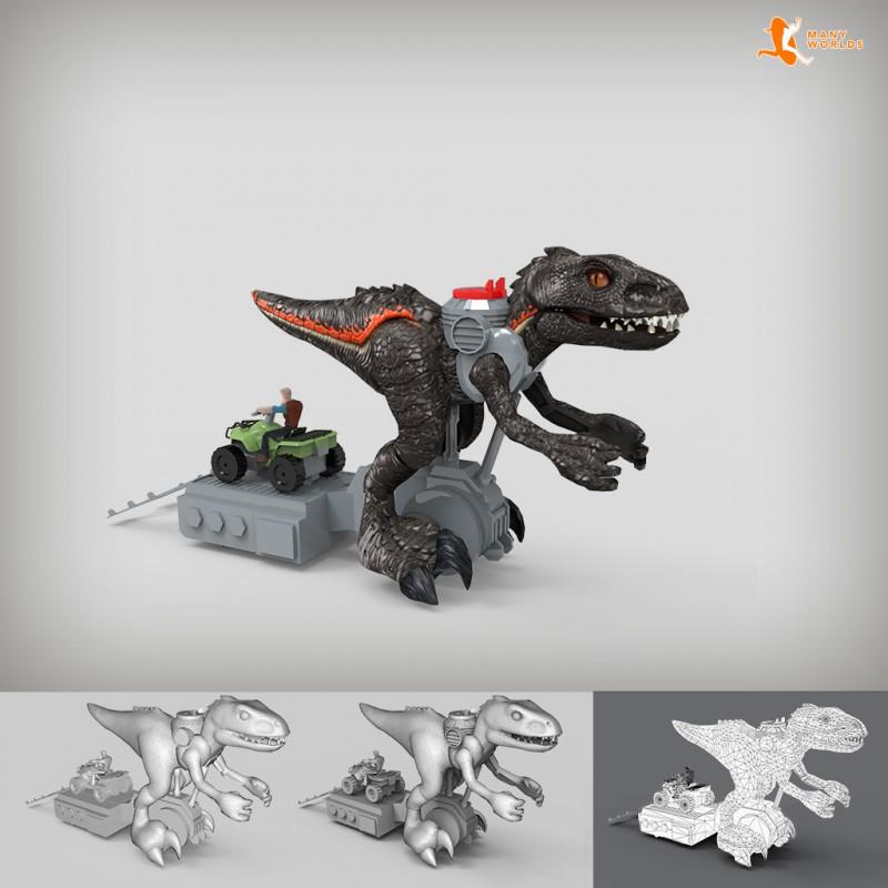 3D Carrefour juguetes