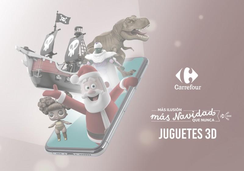 Portada Carrefour juguetes 3D